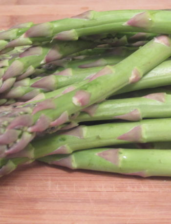 Fresh asparagus means summer is nearly here